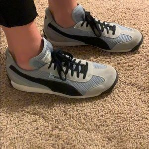 Gently used Puma sneakers